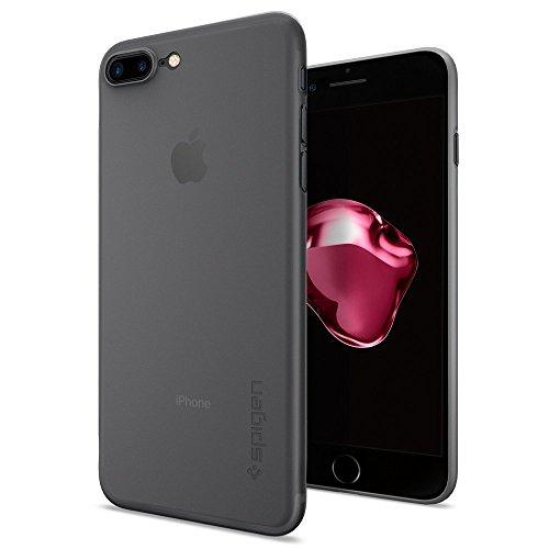 Spigen - Funda iphone 7 plus, [air skin] ultra fino [soft clear]...