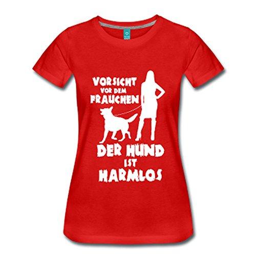 Schäferhund: Vorsicht vor dem Frauchen – der HUND ist HARMLOS Rot