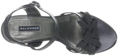 Belmondo 227143/H Damen Sandalen/Fashion-Sandalen Schwarz (Nero)