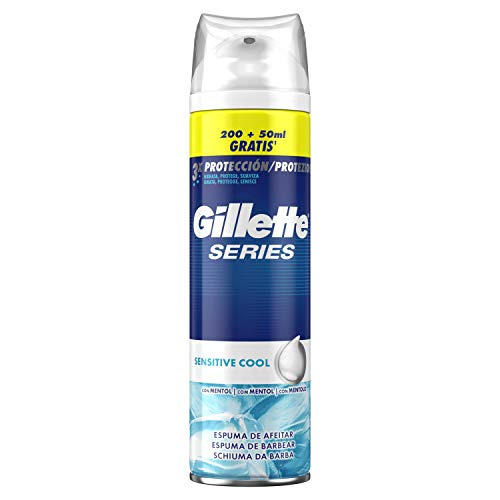 Gillette Series Cool Espuma de Afeitado