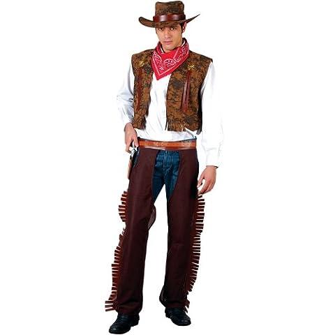 Wilder Westen John Wayne Cowboy Verkleidung Halloween Karneval Party Kostüm S