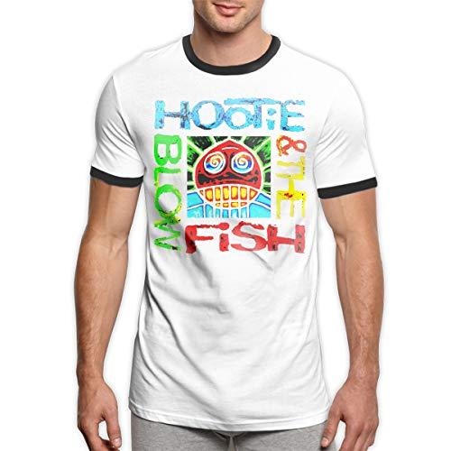Patrick R Garrett Hootie-and-The Blowfish T-Shirt Trendy Herren Ringer T-Shirt Komfort Kurzarm T-Shirt Top -