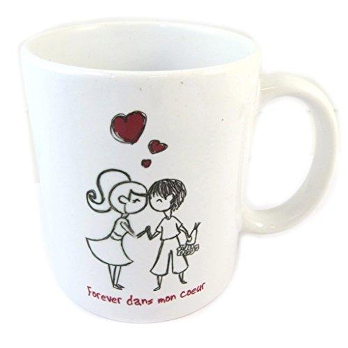 Les Trésors De Lily P0345 - Keramikbecher \'Love\' (immer in meinem herzen).
