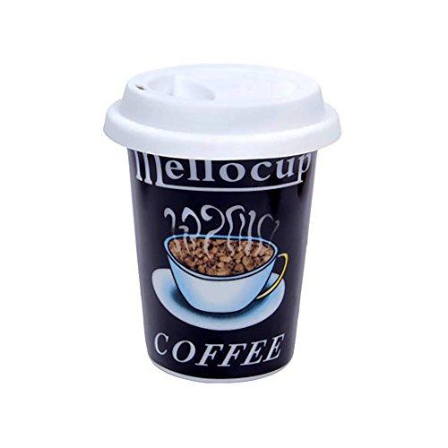 1x Becher mit Silikondeckel ''Nostalgic Coffee Brand'' Mellocup Coffee | Coffee | Becher |...