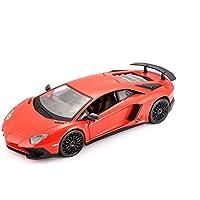 Bburago - Lamborghini Aventador, Rojo (18-21079)