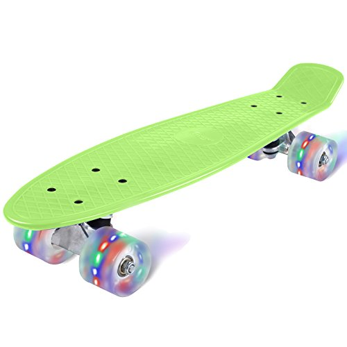 physionics-abec-5-skateboard-cruiser-board-mit-led-leuchtrollen-rollbrett-retro-board-in-verschieden