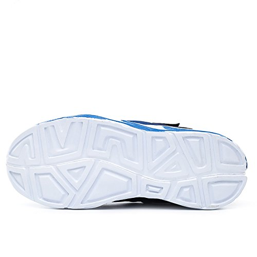ASHION Chaussures pour enfants Chaussures respirantes Chaussures légères pour enfants Sole Chaussures souples Bleu