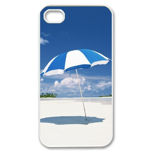 LP-LG Phone Case Of Island Beach For Iphone 4/4s [Pattern-6] Pattern-6