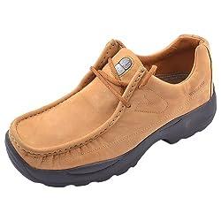 Woodland Mens Camel Nubuck Leather Boots - 9 UK/India (43 EU)