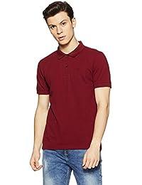 Flying Machine Men's Solid Regular Fit T-Shirt