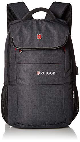 Ruigor City 64 Multifunktionaler Tagesrucksack 27l wasserabweisend Laptop Tasche 15,6 Zoll mit Antidiebstahlfach, USB- und Kopfhörer-Port ...