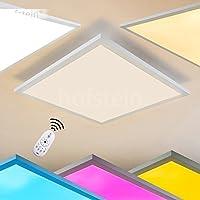 2 Stk Dimmbar Wandlampe Farbwechsel Fernbedienung LED Design Leuchte Büroleuchte