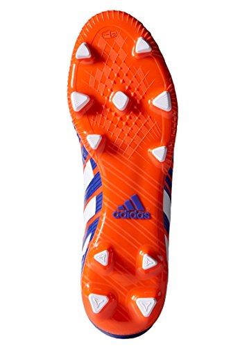 Adidas - Predator Absolado Instinct Fg, Scarpe Da Calcio da uomo Rosso (Rosso Solare/Bianco/Notte Flash)