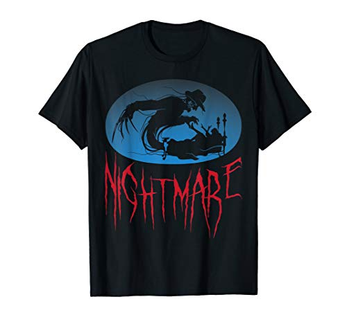 Nightmare October 31st Halloween Party Fright Night Tees T-Shirt (Top 10 Halloween Horror Nights)