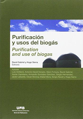 Purificación y usos del biogás por David Gabriel Buguña