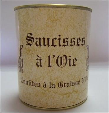 Gailhou Durdos - Saucisses D'Oie 800g