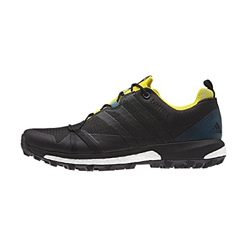 adidas Terrex Agravic GTX Dark Grey Black Yellow Noir - Jaune