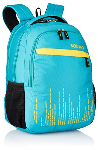 Amazon Brand - Solimo Trellis Laptop Backpack for 15.6-inch Laptops (31 litres,Turquoise) Image 2
