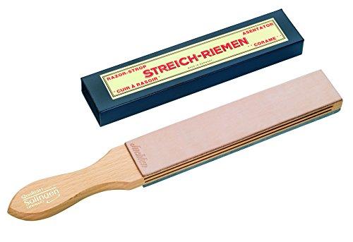 Böker Messerschärfer Abziehriemen Juchtenleder, 90501