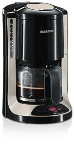 Severin KA 4157 Kaffeeautomat, schwarz-titan / bis 10 Tassen / 1000 W