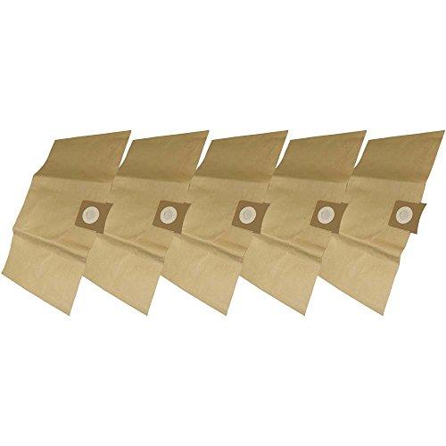 5 Industrie- Baustellen- Gewerbe- Heavy Papier Staubsaugerbeutel passend für Parkside PNTS 23 / 1300, 6.904-051 / 6.904-263
