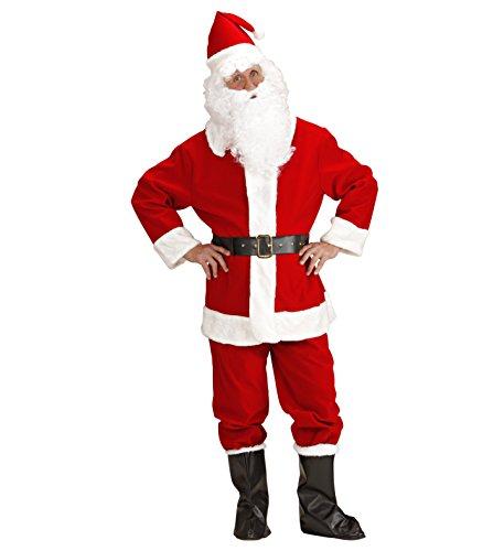 Costume natalizio vestito da babbo natale professionale ps 01380-xl