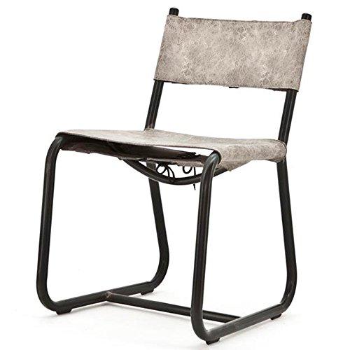 Stuhl LEON Microfaser grau Kufenstuhl Esszimmerstuhl Konferenzstuhl Küchenstuhl