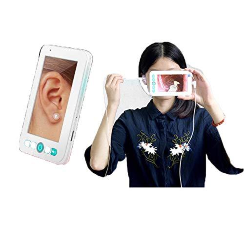 Maple Leaf USB-Otoskop-Digital-Otoskop-Otoskop-Inspektionskamera Mit 6 LED-Lampen-Ohrreinigungsendoskop, Geeignet Für IOS- Und Android-Smartphone-Ohrenschmalz-Entfernungswerkzeug - Otoskop-lampe