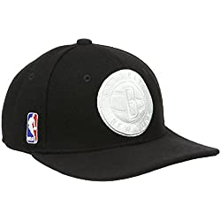 adidas NBA SBC Nets Superstar - Gorra unisex, color negro / blanco, talla OSFM