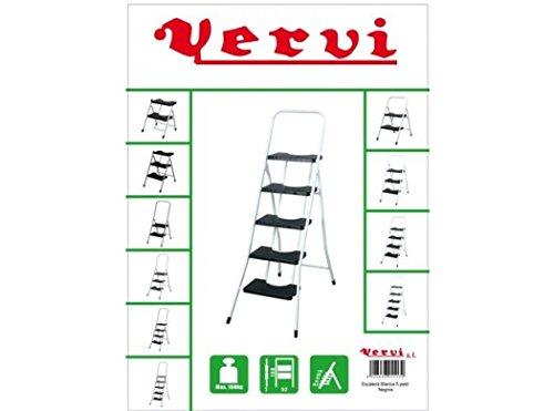 Vervi - Escalera 5 peldaños con barandilla