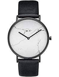 Reloj a Cuarzo analógico Reloj décontractée Reloj de Pulsera Reloj de Moda Vogue Relojes para Hombre Mujer Ultra Fino…