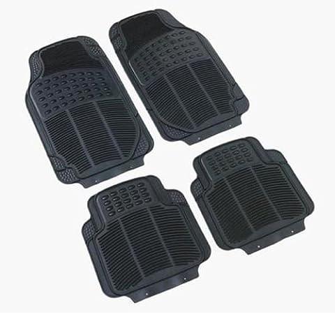 Vauxhall / Opel Astra G H F Gummi PVC Fußmatten Hochleistungs- 4 teile Geruchsfrei