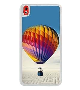 Hot Air Balloon 2D Hard Polycarbonate Designer Back Case Cover for HTC Desire 816 :: HTC Desire 816 Dual Sim :: HTC Desire 816G Dual Sim