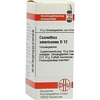 CEANOTHUS AMER D12 10g Globuli PZN:7455844 preisvergleich bei billige-tabletten.eu