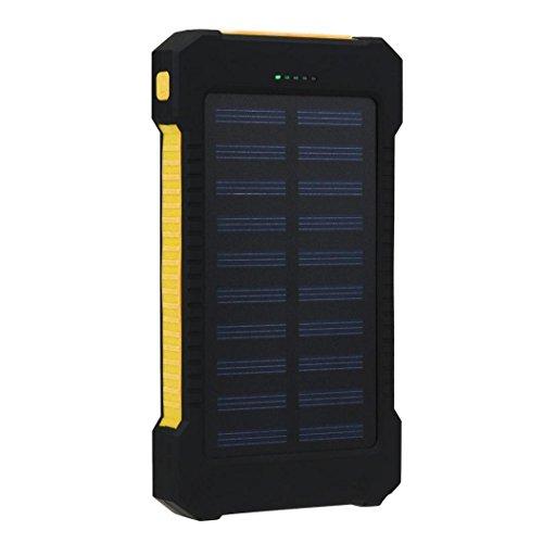 Koly 30000mAh banco de energía solar portátil dual del cargador de batería...