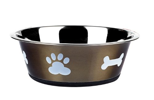 classic-pet-products-classic-posh-paws-dish-2500-ml-graphite