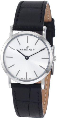 Pierre Petit - P-788B - Montre Femme - Quartz Analogique - Bracelet Cuir Noir