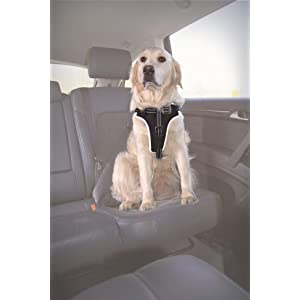 Trixie Dog Comfort Car Harness, 65-80 cm/25 mm, Black