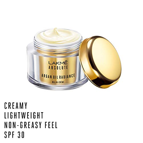 Lakmé Absolute Argan Oil Radiance Oil-in-Creme, 50g