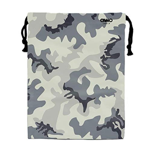 Einst Camo Camouflage Gym Sack Bag Sportbeutel Turnbeutel Tote School Travel Sackpack
