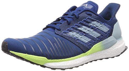 adidas Solar Boost M, Chaussures de Running Homme Bleu (Legend Marine/Ash Grey S18/Hi/Res Yellow Legend...