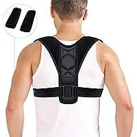 Fixget Corrección de Postura, Posture Corrector para Mulheres e Homens Ajustável Na Parte Superior Das Costas Postura Corrector Brace Postura Terapêutica Da Parte Superior do Corpo Preparem(L)