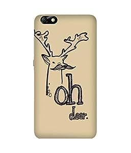 Oh Deer Huawei Honor 4X Case