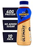 For Goodness Shakes Ultimate Protein Chocolate Shake, 475ml - Pack of 10