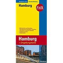 Falk Stadtplan Extra Standardfaltung Hamburg