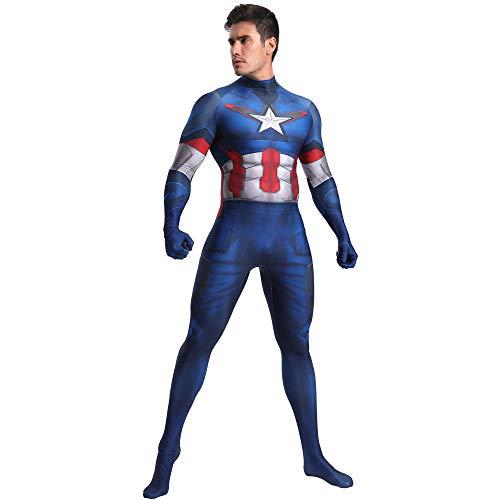SHANGN Spiderman-Kostüm, Kostüm Für Kinder Für Erwachsene, Cosplay Captain America, - Weibliche Captain America Kostüm