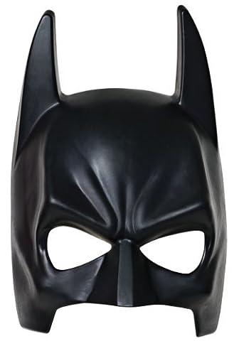 Déguisement Héros Noir Demi Masque Casque Pour Enfants et Adulte Soirée Accessoires Superman Batman Spiderman Thor - Taille Unique - Noir Masque De