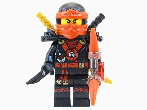 LEGO® Ninjago: Deepstone Kai Ninja Minifigure Red Aeroblade Swords (Lego Red Ninja)