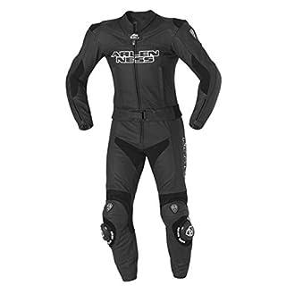 Arlen Ness BLACK STAR LS2-4492 Lederkombi 2tlg. - Farbe: SCHWARZ, Größe: 54