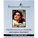 Shahnaz Husain Professional Power Facial Kit (Anti-Ageing Treatment) with Ayur Freebie